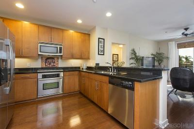 San Diego Attached For Sale: 3650 5th Ave #306