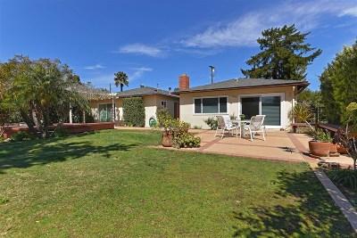 La Jolla Single Family Home For Sale: 5828 Cactus Way