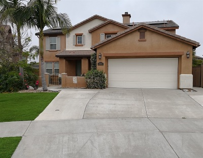 Oceanside Single Family Home Contingent: 3264 Toopal Dr