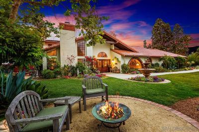 Single Family Home For Sale: 18725 Avenida Cordillera