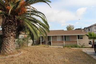 Chula Vista Multi Family 2-4 For Sale: 439 Zenith St