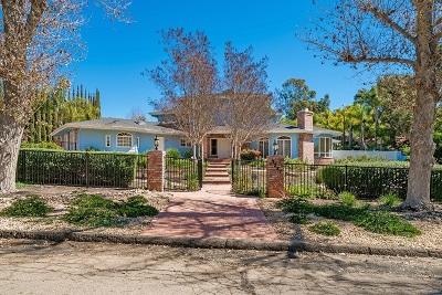Single Family Home For Sale: 3287 Via Las Faldas