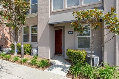 San Marcos Townhouse For Sale: 1269 San Elijo Rd S