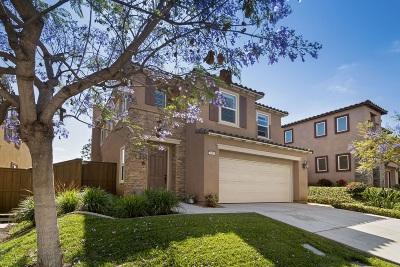 Vista Single Family Home For Sale: 338 Cobalt Dr