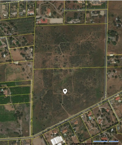 Valley Center Residential Lots & Land For Sale: Vesper Road #52 Acs