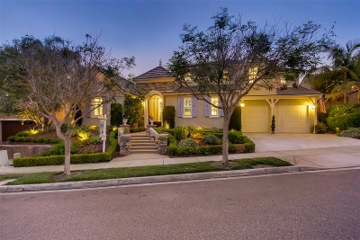 Carlsbad Single Family Home For Sale: 7344 Corte Hortensia