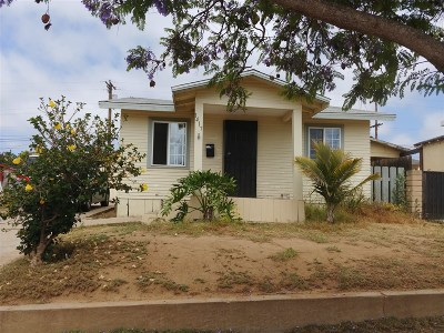 Single Family Home For Sale: 1417 I Ave