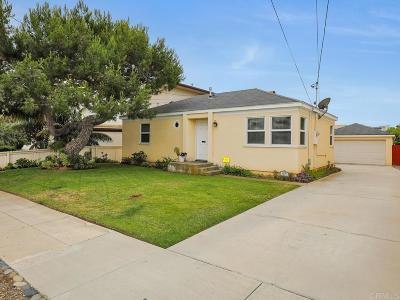 Carlsbad Single Family Home For Sale: 3677 Garfield St
