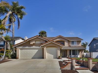 Oceanside Single Family Home For Sale: 3817 Carnegie Dr