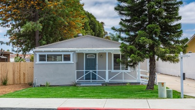 Chula Vista Single Family Home For Sale: 333 Quintard Street