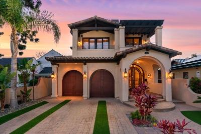 Coronado Single Family Home For Sale: 612 Glorietta Blvd.