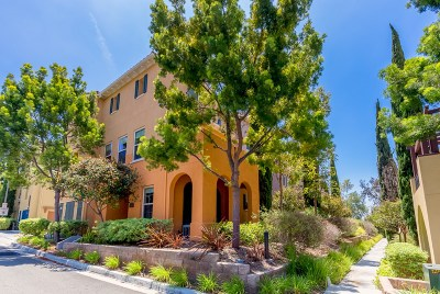 Chula Vista Townhouse For Sale: 2244 Huntington Point Rd #74