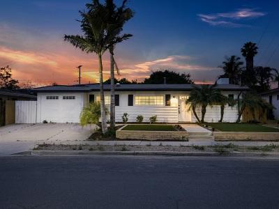 Single Family Home For Sale: 5144 Acuna Street