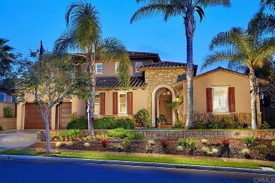 La Costa Oaks Single Family Home For Sale: 7345 Corte Tomillo