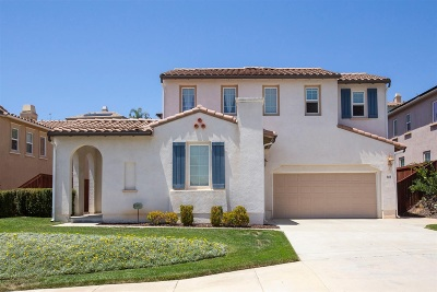 San Marcos Single Family Home For Sale: 868 Orion Way