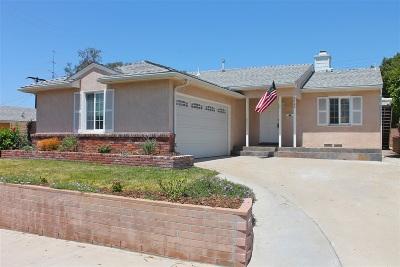 San Diego Single Family Home For Sale: 6702 Carthage