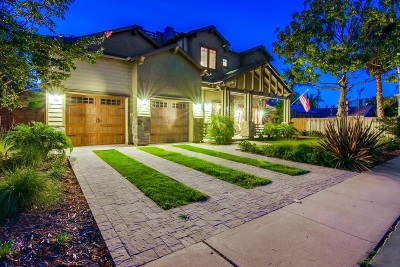 Coronado Single Family Home For Sale: 620 Balboa Ave