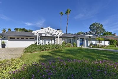 Escondido Single Family Home Sold: 3134 Via Loma Vista