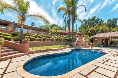 Escondido Single Family Home Contingent: 1178 Orangewood Drive