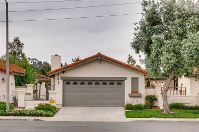 Oceanside Single Family Home For Sale: 241 Smoke Tree Place