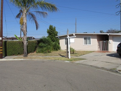 Single Family Home For Sale: 4895 Barstow St