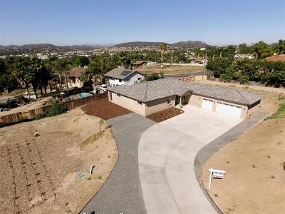 San Marcos Single Family Home For Sale: 3146 Roadrunner Rd