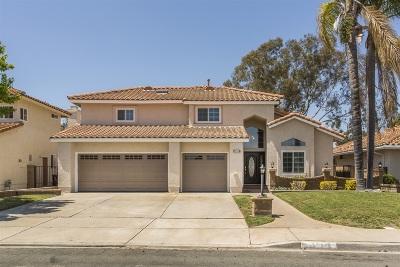 Single Family Home For Sale: 4576 Coronado Drive