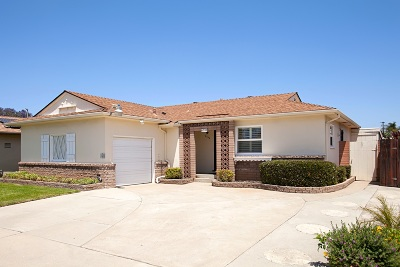 San Diego Single Family Home For Sale: 6399 50th St.