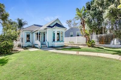 San Diego Single Family Home For Sale: 2794 C Street