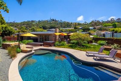La Jolla Single Family Home For Sale: 2356 Rue De Anne