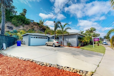San Diego CA Single Family Home For Sale: $630,000
