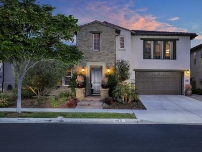 La Costa Greens Single Family Home For Sale: 6671 Halite Pl