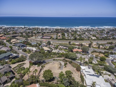 Del Mar Residential Lots & Land For Sale: 2069 Seaview #& 2075