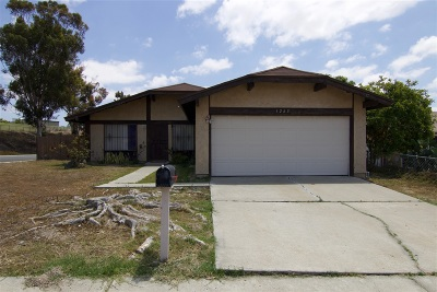San Diego Single Family Home For Sale: 1265 Agapanthus Dr
