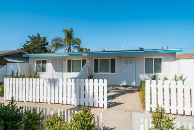 Oceanside Multi Family 2-4 For Sale: 323 S Nevada St