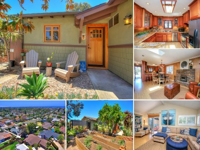Oceanside Single Family Home For Sale: 1115 Camelia St