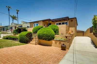 San Diego Single Family Home For Sale: 3430 Carleton St