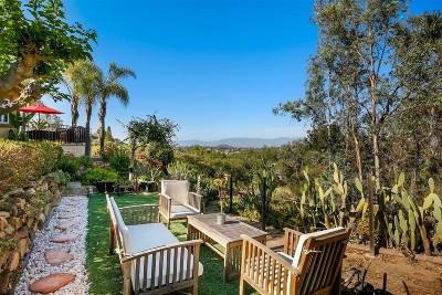 Escondido Single Family Home For Sale: 10209 Legend Rock Rd