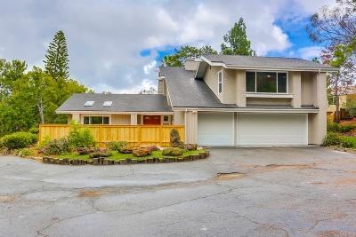Oceanside Single Family Home For Sale: 3053 Sonja Ct