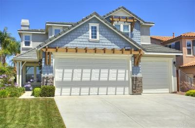 Oceanside Single Family Home For Sale: 1224 Players Dr
