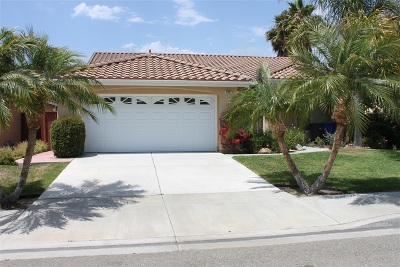 Oceanside Single Family Home Back On Market: 3932 Alipaz Ct
