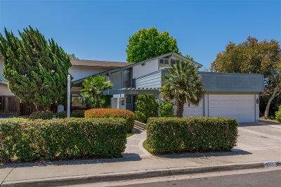 San Diego Single Family Home Pending: 3771 Notre Dame Avenue