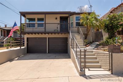 Ocean Beach Single Family Home For Sale: 2219 Etiwanda St