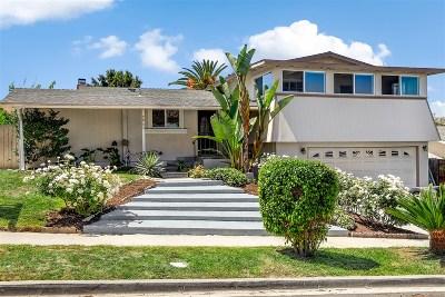 Oceanside Single Family Home For Sale: 3943 Wooster Dr