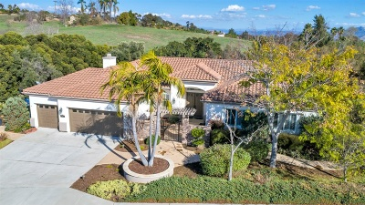Escondido Single Family Home For Sale: 1682 Greenwood Place