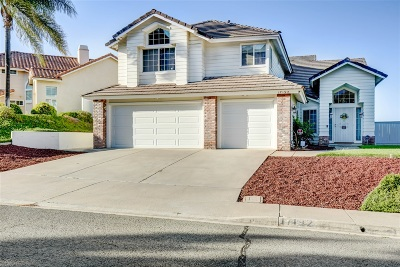 Single Family Home For Sale: 17192 Carranza Dr