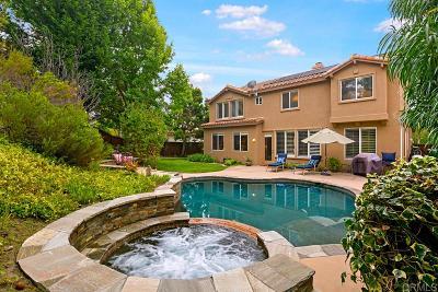 La Costa Valley Single Family Home Pending: 7948 Grado El Tupelo