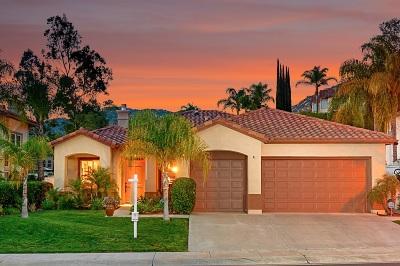 Escondido Single Family Home For Sale: 3156 Ferncreek