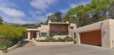 La Jolla Single Family Home For Sale: 6585 Draper Ave