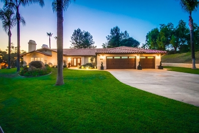 Poway Single Family Home For Sale: 16282 Windpiper Rd